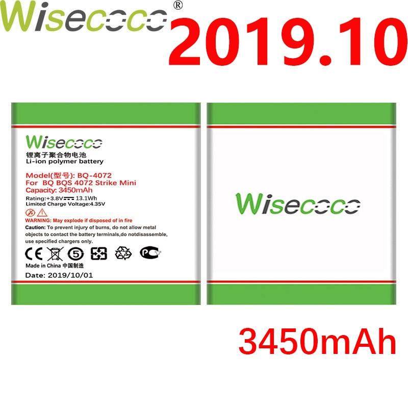 520.3руб. 21% СКИДКА|Wisecoco BQ 4072 3450 мАч новая продукция батарея для BQ BQ 4072 BQs 4072 Strike мини телефон батарея Замена + номер отслеживания|Аккумуляторы для мобильных телефонов| |  - AliExpress