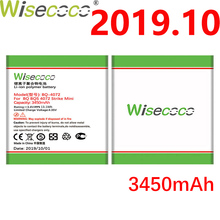 цена на Wisecoco BQ-4072 3450mAh Newly Production Battery For BQ BQ-4072 BQs-4072 Strike mini Phone Battery Replacement+Tracking Number