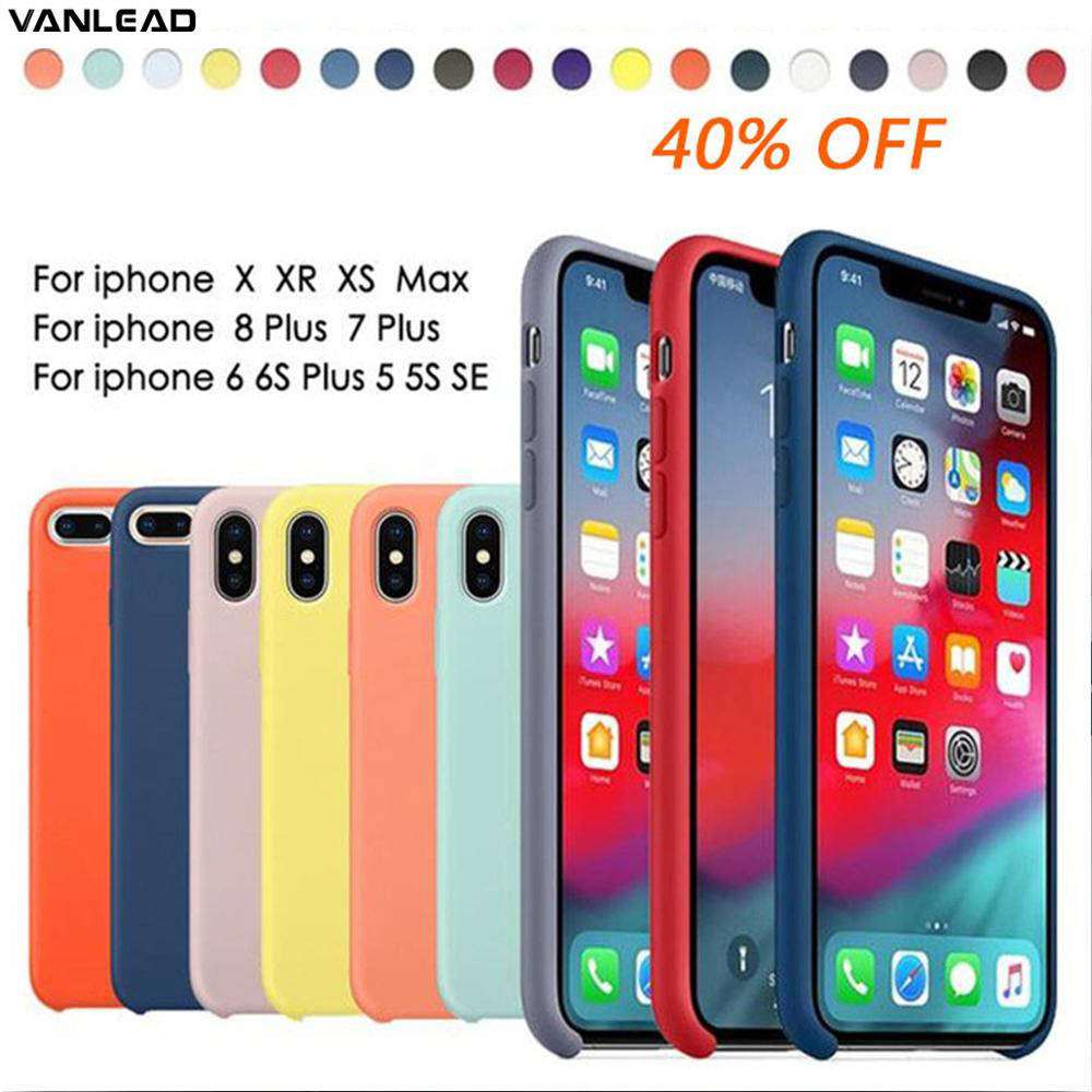 Phone-Case LOGO Official Mobile Silicone Luxury Ultra-Thin Original Plus-X-Xs for Apple