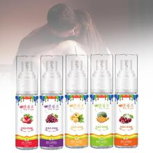 Five Fruit Flavor Edible Lubricants Sex Lube Water Soluble Sex Oral Lubricant Anal Vagina Silky Lubricating Gel Sex Oil 1pc purple monogatari silk touch anal lubricant water based excited lubricating oil lubricants oil vagina sex toys