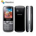E2250 100% Original desbloqueado Samsung E2250 teléfono móvil 2,0 pulgadas Bluetooth FM Radio teléfono celular 1000mah envío gratis