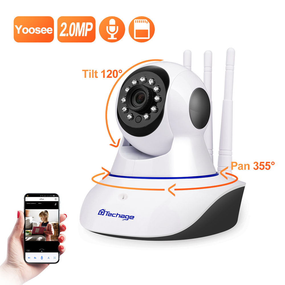 Yoosee 1080P Wireless IP Camera Pan/Tilt 2MP Dome Indoor Two-Way Audio CCTV WiFi Camera Home Video Security Surveillance image