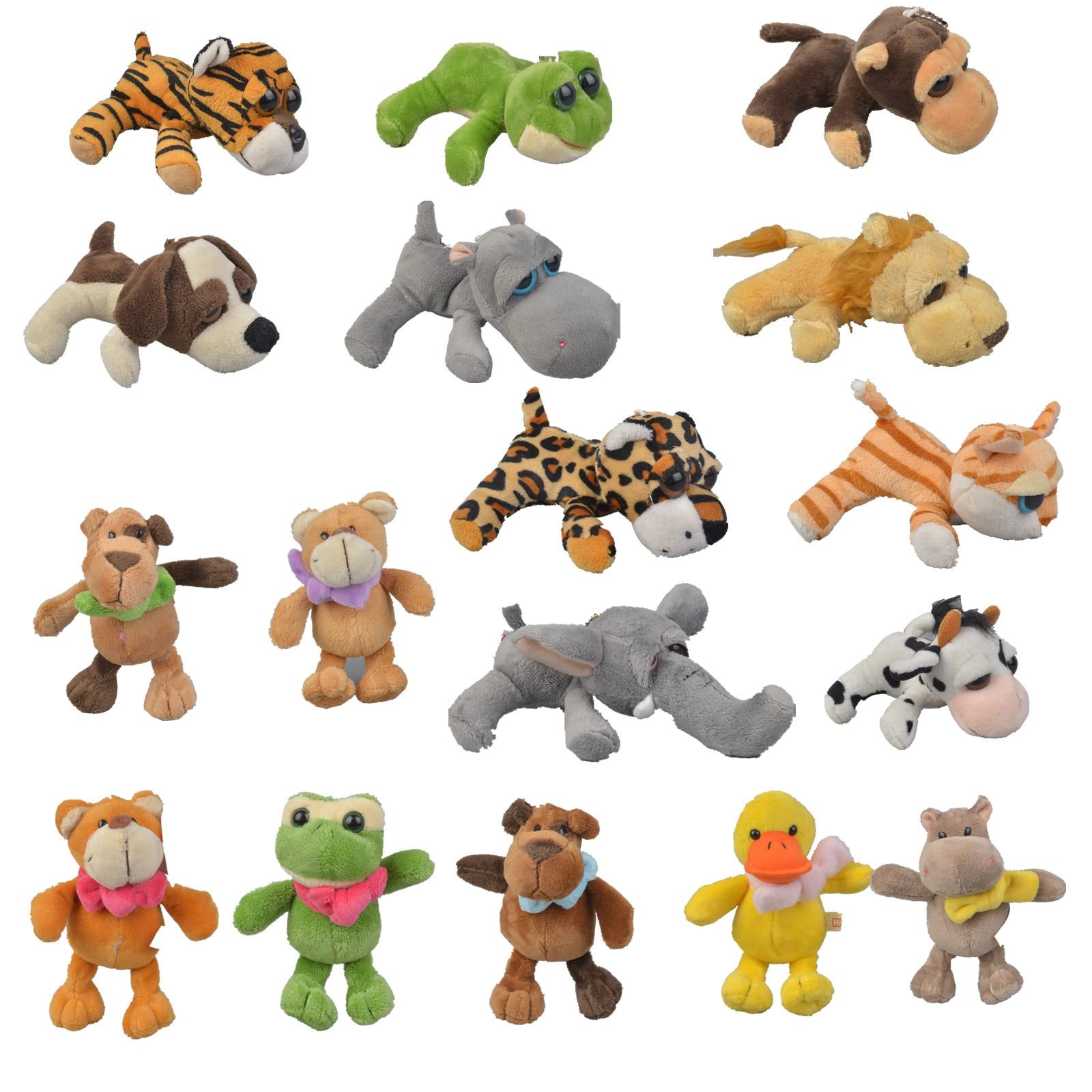 Hot Chuck Plush Toys Sale Frog Duck Lion Popular Elephant Giraffe Monkey Stuffed Doll Jungle Series Stuffed Animal Toys For Kids