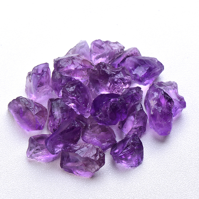 1PC Natural Crystal Quartz Minerals Specimen Amethyst Rose quartz Irregular Shape Rough Rock Stone Reiki Healing Home Decoration