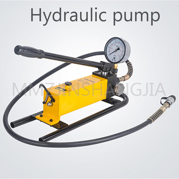 CP-700D Manual Hydraulic Pump Hydraulic Pressure Gauge Pressure Pumping Station Hydraulic Press Hydraulic Oil Hydraulic Tools high pressure hydraulic manual pump portable hydraulic pump 700 kg cm2 900cc hydraulic pump