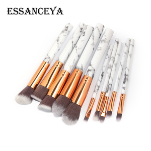 Image 4 - ESSANCEYA 7/10/20Pcs Marble Pattern Makeup Brush for Cosmetic Powder Foundation Eyeshadow Make Up Brushes Set Beauty Tools Kits