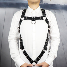 Leather Harness Belt Man Bdsm Bondage Pastel Goth Fantazi Seks gg Belt Gothic Punk Cinturon Mujer Wedding Garter Suspenders