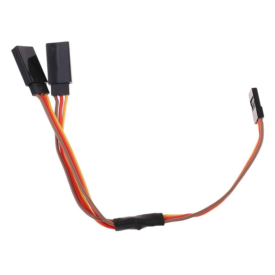 150mm Y Stil 2 Wege Verlängerung Servo Kabel Kabel für JR Futaba Teile