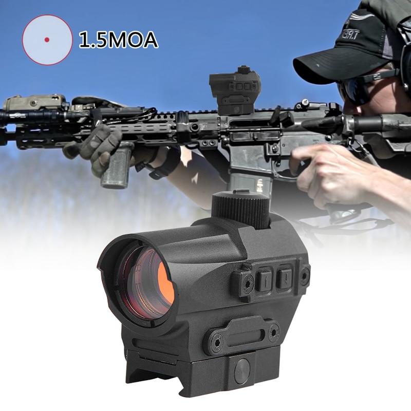 colimador vista qd red dot scope vista 1 5 moa airsoft caca reflexo vista 10 configuracoes