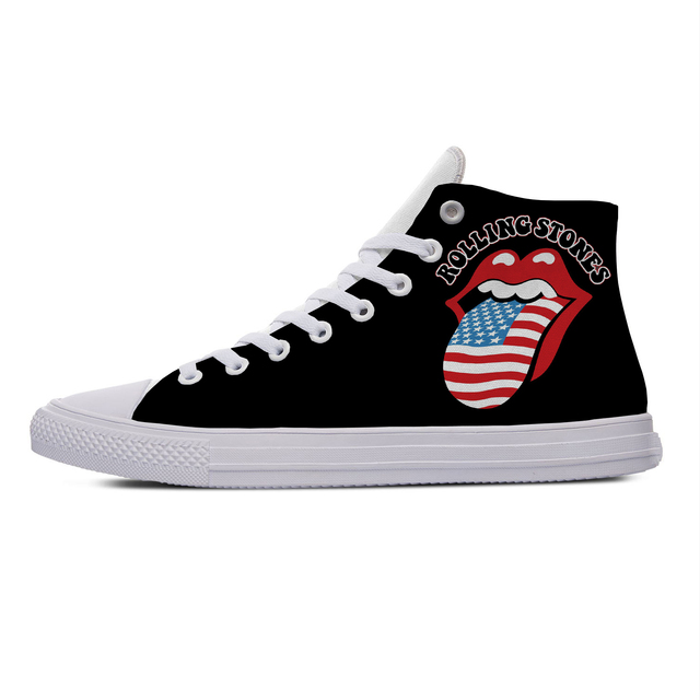 ROLLING STONE HIGH TOP SHOES (5 VARIAN)
