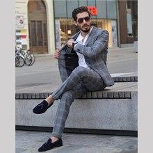 Mans Wedding Suits Best Man Groom Wear Tuxedos Blazer Party Suit Business Suit Wedding Prom Dresses Peaky Blinders 2Piece Suits