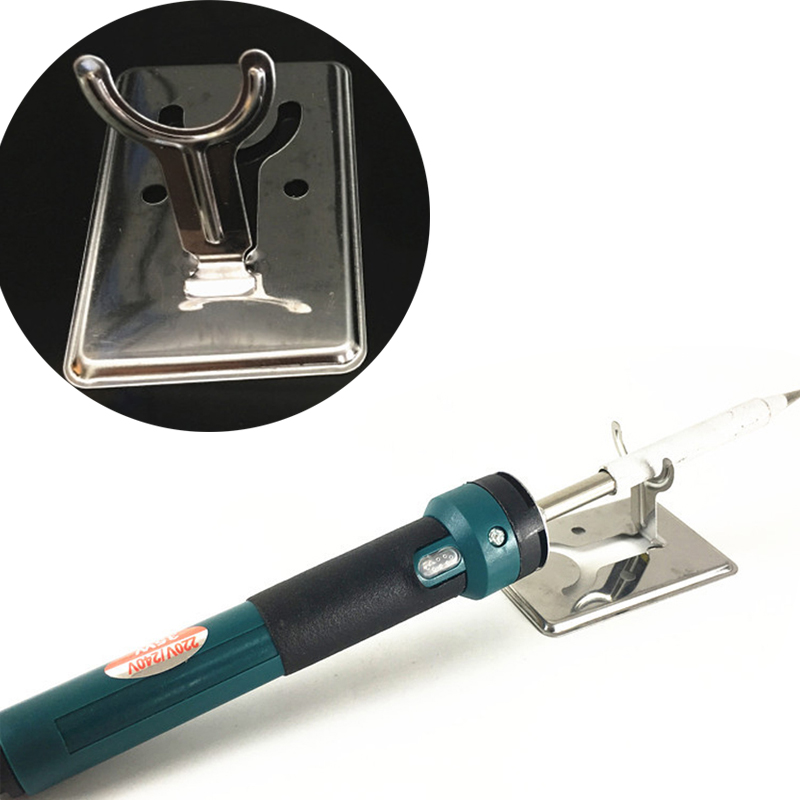 8*5cm Electric Soldering Iron Stand Holder Metal Support Station With Solder Sponge Soldering Iron Frame Small And Simple Y-Type