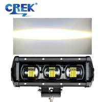 CREK 8 15 21 28 34 41 47 53 6D Offroad LED Work Light Bar ATV Bar Truck 4x4 4wd SUV LED Bar For SUV ATV 4WD 4x4 Jeep Offroad