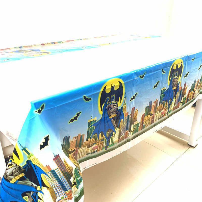 Batman 108cm*180cm Table Cloth Super Hero Happy Birthday Party