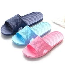 ZXWFOBEY الرجال النعال النساء داخلي 2019 موضة الصيف المنزل الحمام عدم الانزلاق النعال زوجين أحذية رياضية الشاطئ الوجه يتخبط