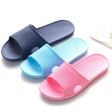 ZXWFOBEY Mens Slipper Women Indoor 2019 Fashion Summer Home Bathroom  Non slip Slipper Couple Beach Sport Shoes Flip Flops