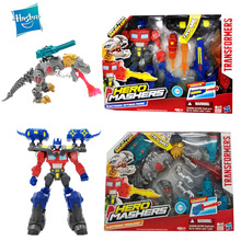 Hasbro Transformers Robot Toy Grimlock Optimus Prime Movie Series Autobot Model Cllectible Car Robot Deformation Action Figures transformers toys the last knight premier edition steelbane deluxe dinobot slug autobot sqweeks action figures collection model