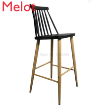Nordic Bar Chair Modern Simplicity Stool Leisure Time Commercial Furniture Sillas Light Extravagant Gold Metal Chair for Sale