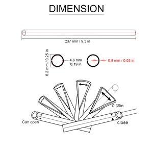Image 5 - אופנוע גלגל דיבר עורות מגן מכסה לכלוך קישוט מוטוקרוס עבור הונדה CRF230 CRF250 CRF450 CRM250 XR250 XR400 XR600