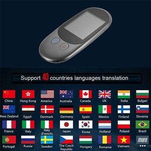 Image 3 - נייד חכם מיידי קול מקוונים מתורגמן אמיתי זמן רב שפות מיני תרגום כלי עם מצלמה סריקה מתורגמן