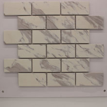 Ceramic Mosaic Tiles-Art Weave White Porcelain Tile DIY Hobby Wall Home Decor