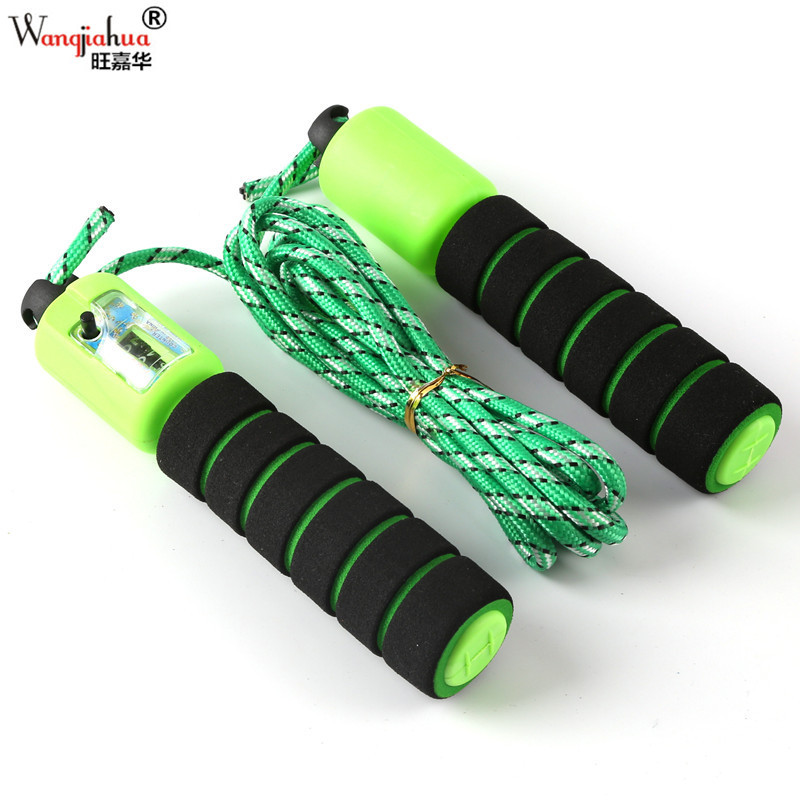 Foam Rubber Grip Count Jump Rope With Numbers Jump Rope Students Game Sports Fitness Machinery Automatic INS Hot Selling Jump Ro
