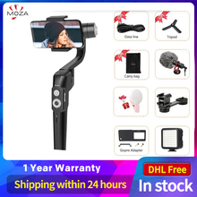 MOZA MINI S 3 Axis Stabilizer Foldable Pocket Sized Handheld Gimbal  MINI S for iPhone X xiaomi huawei GoPro VS MINI MI VIMBLE 2
