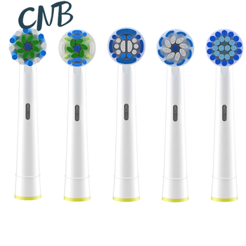 Oral B Toothbrush Heads Nozzles Fit for Oral-b Replacement Electric Vitality Sensitive Brush Head Oral B Cross Action 8pcs replacement electric toothbrush heads for braun oral vitality brush heads nozzles for tooth brush sensitive clean