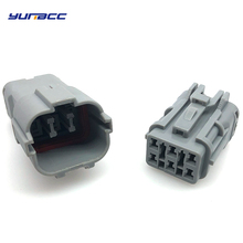 2 Sets 6 Pin/way KET Female Male Automotive Waterproof ECU Electrical Wire Connector Plug MG640337 MG610335