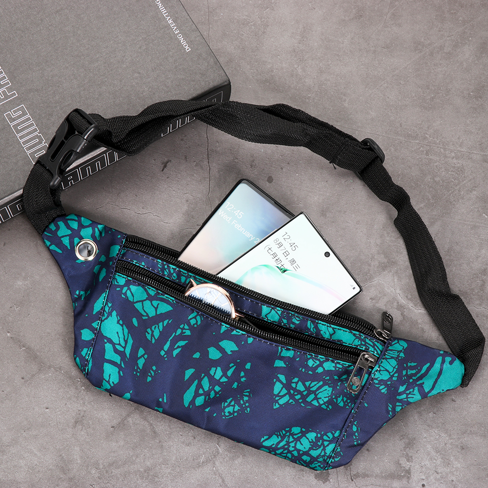 1PC Camouflage Fanny Pack Travel Sport Bum Bag Money Waist Belt Pouch Ladies Casual Waterproof Chest Pack Kids Boys Girls New