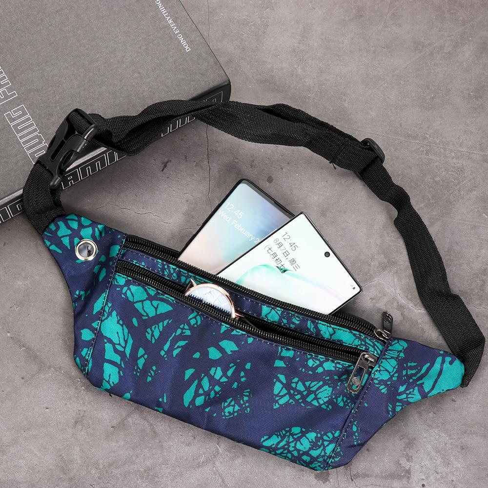 1PC Camouflage Fanny Pack Travel Sport Bum Bag Money Waist Belt Pouch Ladies Casual Waterproof Chest Pack Kids Boys Girls New