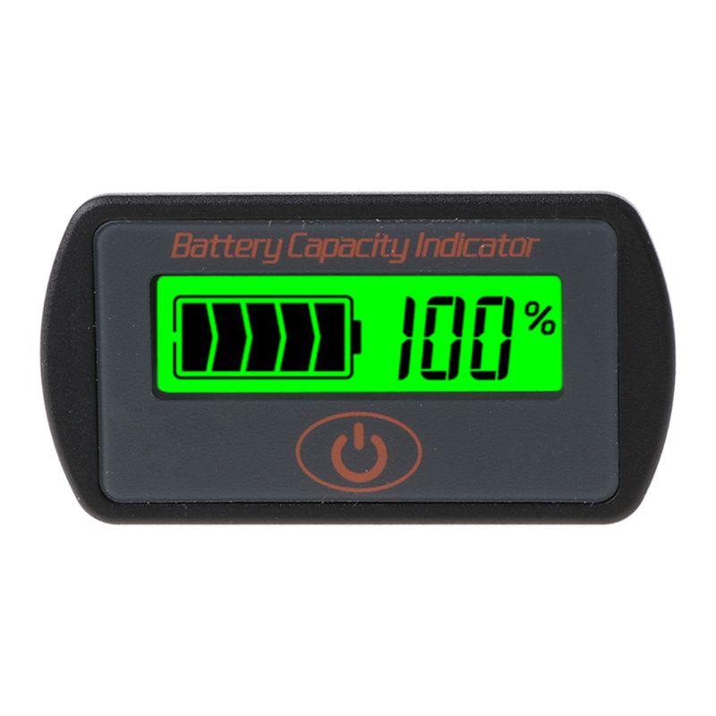 Купить 12 в 24 в жк дисплей ёмкость аккумулятора вольтметр тестер индикатор