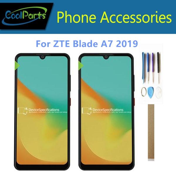 6.09 pouces pour ZTE Blade A7 2019 2019RU P963F02 écran LCD avec écran tactile numériseur capteur couleur noire avec outils ruban