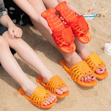 Funny Slippers Summer Shoes Plus-Size Women PVC Soft 32-47 Unisex New-Arrival
