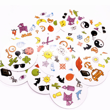 Настольные игры мини-стиль для детей Нравится Классическая образовательная карточная игра английская версия Веселая домашвечерние