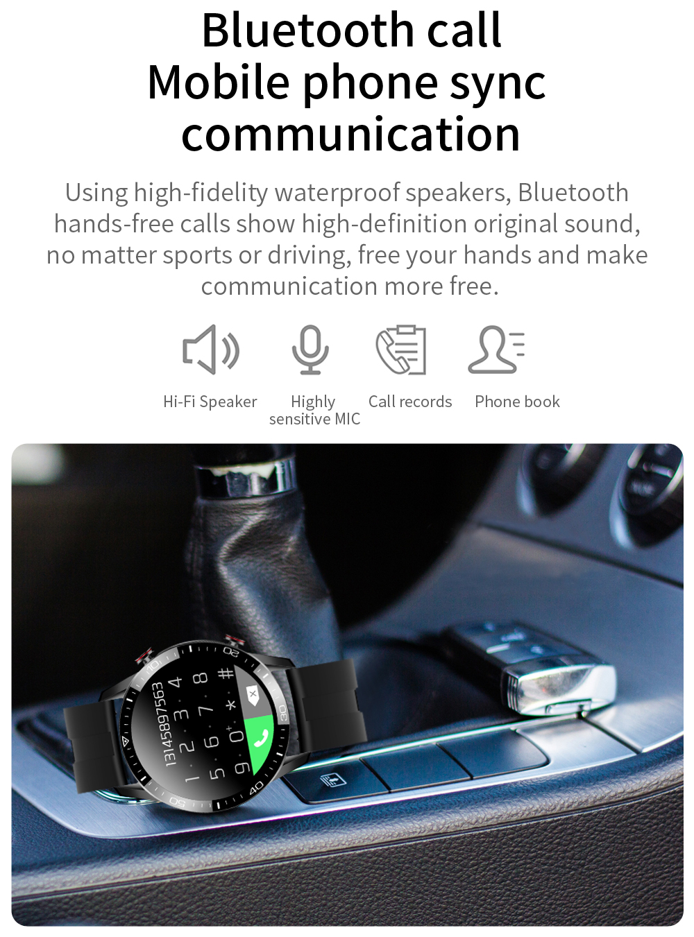 H708c35af62784909a28494f35ff41e7ah New Smart Watch Men Bluetooth Call TK2-8 IP68 Waterproof Heart Rate Blood Pressure SmartWatch Fitness Tracker Sports Android IOS