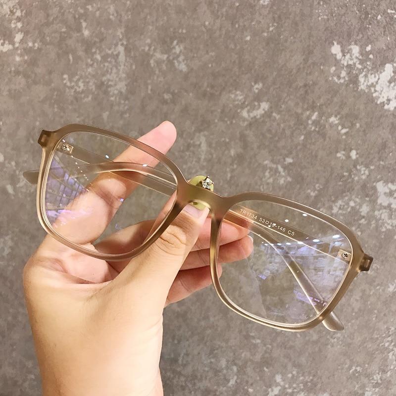TR90 Transparent Clear Glasses Vintage Retro Square Glasses Frame Women Men Optical Eyeglasses Frames Spectacles Eyewear Oculos