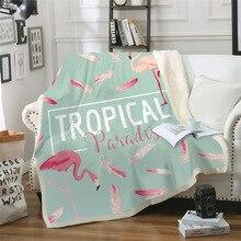 3D Тропическое цифровое квадратное одеяло серии океанов, теплое Флисовое одеяло с животными, зимнее модное простое одеяло для дивана