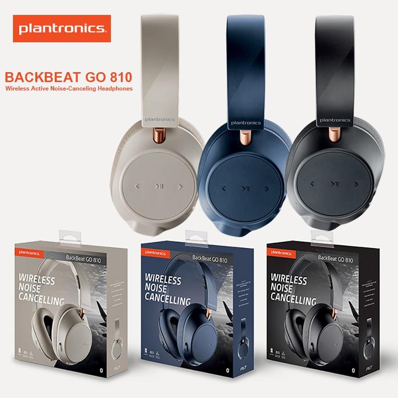Plantronics Backbeat Go 810 Wireless Headphones With Bluetooth 5 0 Anc Support Sp Hfp A2dp Avrc Headset For Samsung Huawei Bluetooth Earphones Headphones Aliexpress