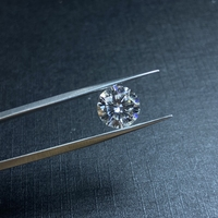 Lab diamond 8mm D Color Loose Moissanite 2ct VVS1 Excellent Round Brilliant Cut Ring Jewelry Making Stone DIY