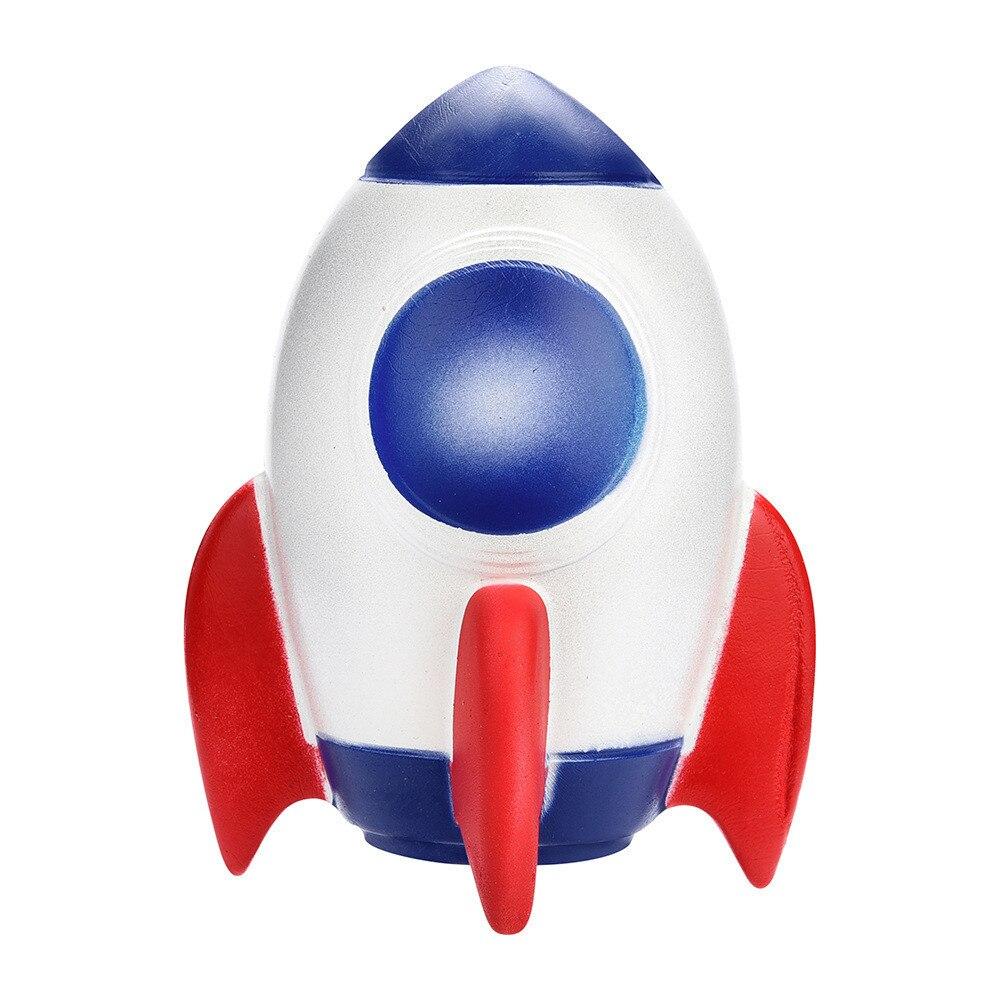 Jumbo Rocket  Slow Rising Cartoon Squeeze Antistress Toys Inger Rehabilitation Training Props Toys For Children #B