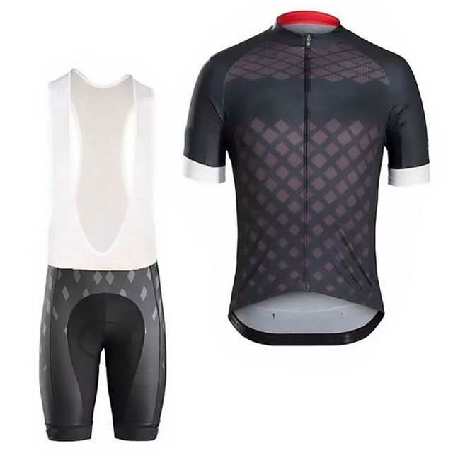 2021 Bicycle Shirt Set Men's Bicycle Wear Summer Short Sleeve Quick Dry MTB Bicycle Wear Quick Dry 2