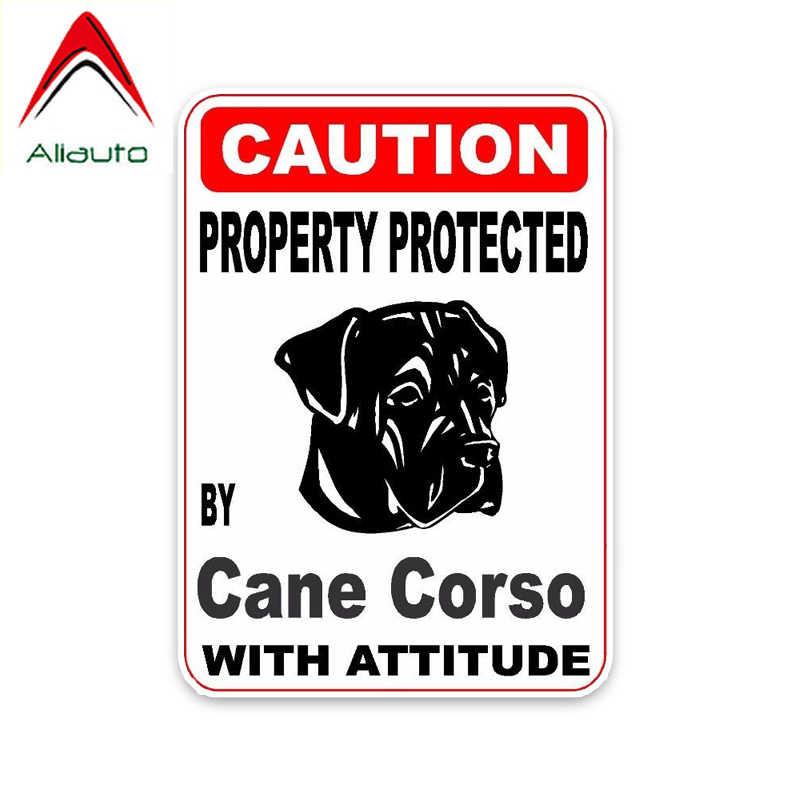 Cane Corso on Board Italian Mastiff Sign Decal -V03 Beware of The Dog Car Window Sticker