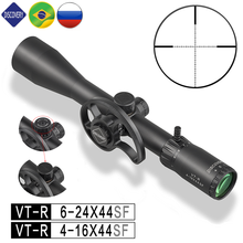 Discovery Rifle Scope 30MM Tube 4-16 6-24 Magnification Shockproof .22LR Side Focus with High Definition Bright Glass
