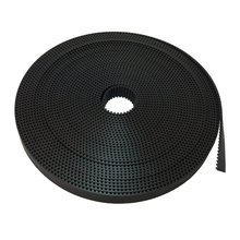 цена на 3M Open Ended PU Timing Belt Width 15mm for CNC Laser Engraving Machines 2/3/5/10/20Meter HTD 3M Open Ended PU Timing Belt Black