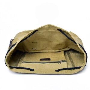 Image 5 - DIDABEAR płótno plecak mężczyźni plecaki duża mężczyzna Mochilas Feminina na co dzień tornister dla chłopców wysokiej jakości