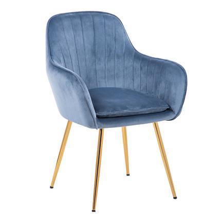 Принцесса Принц леди нордический Золотой Железный Металл мягкий бархат обеденный стул домашний комод Свадебный праздник ужин бар кофе диван стул - Цвет: C1