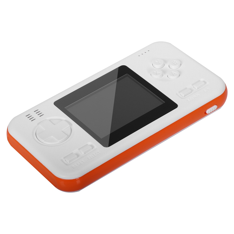 Power Bank Video Game Console Handheld Game Retro Game Console 416 Styles Classic Game Gamepad Orange+White