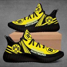 Personalizado 350 borussia-dortmund tênis de corrida confortável luz casual mulher sapatilha respirável ao ar livre sapatos de caminhada do esporte dos homens