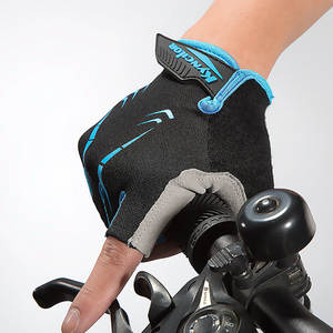 Anti-slip Cycling Gloves Half Finger Anti-sweat Men Sports Gloves MTB Bike Glove Breathable Cycling Weight Lifting gloves